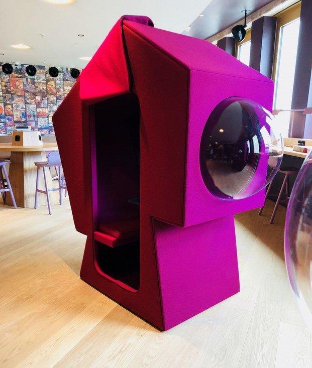 cowork box futurista studio aisslinger orgatec 2018 diariodesign