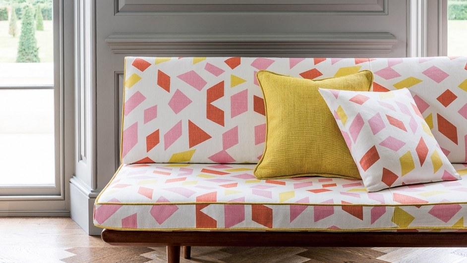 diseños de anni albers para christopher farr en butaca tapizada diariodesign