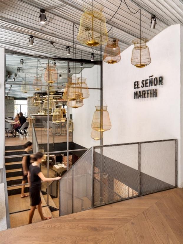 el senor martin more and co diariodesign escalera