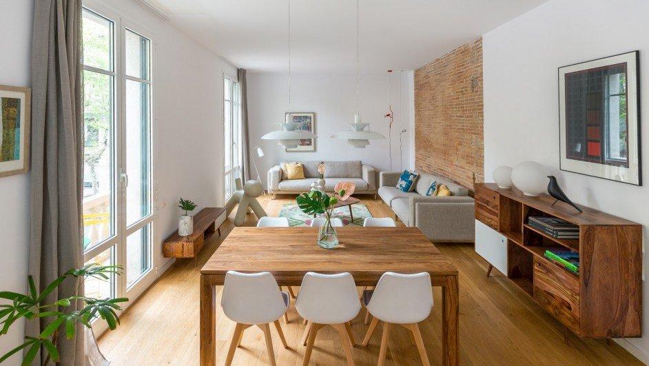 Apartamento n rdico en un antiguo piso del eixample - Piso estilo nordico ...