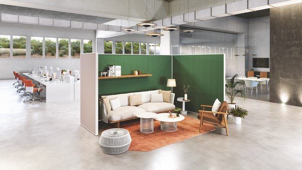 kettal space divider tendencias de oficinas orgatec 2018 diariodesign