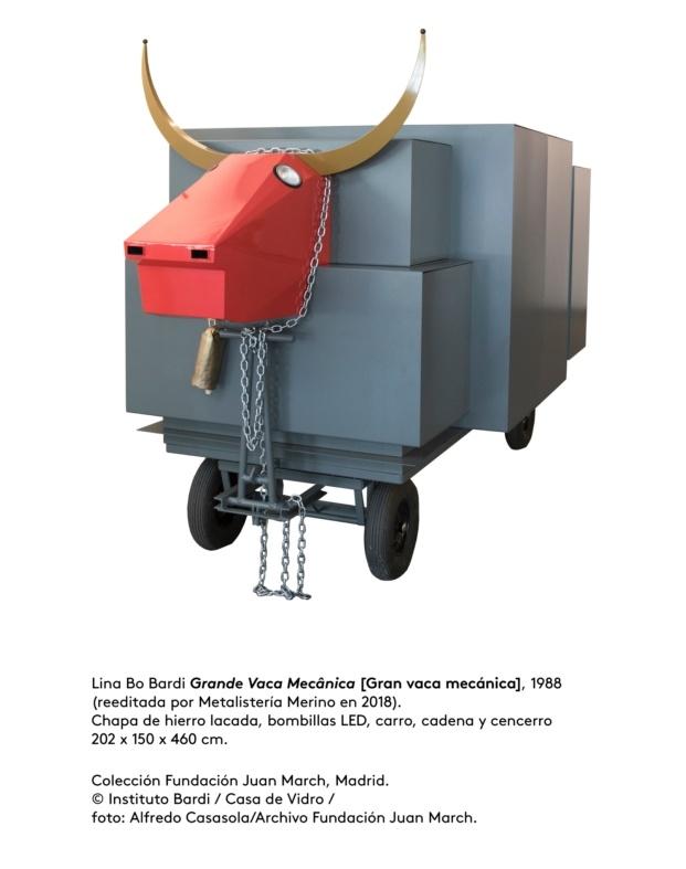 lina bo bardi fundacion juan march diariodesign la gran vaca mecanica