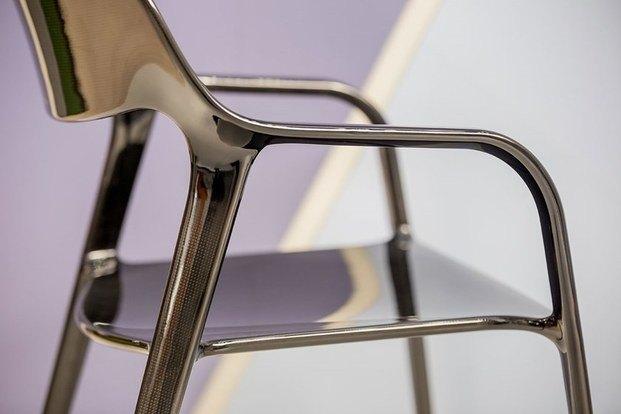 Detalle silla de carbono negra ACTIU diariodesign