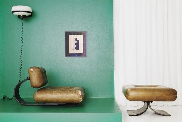 sillón y reposapies Alta de Oscar Niemeyer diariodesign