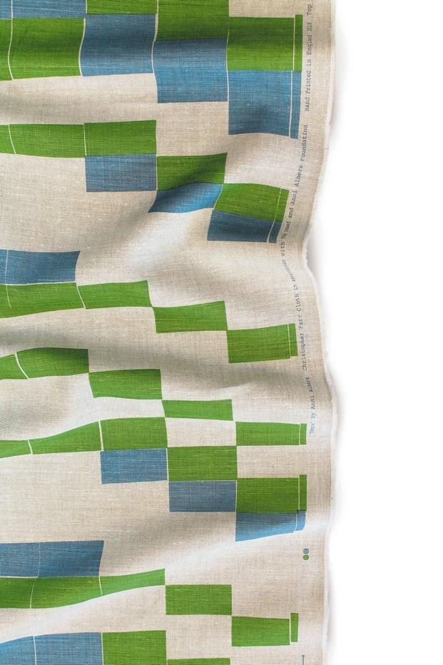 temple diseño de anni albers christopher farr tela verde diariodesign