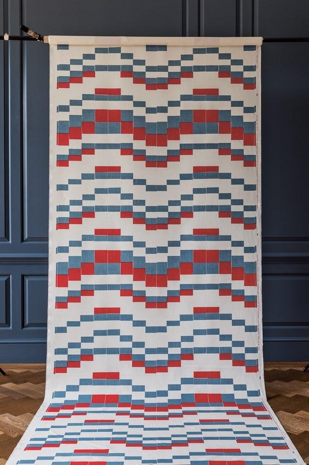 temple tapiz diseño de anni albers christopher farr diariodesign