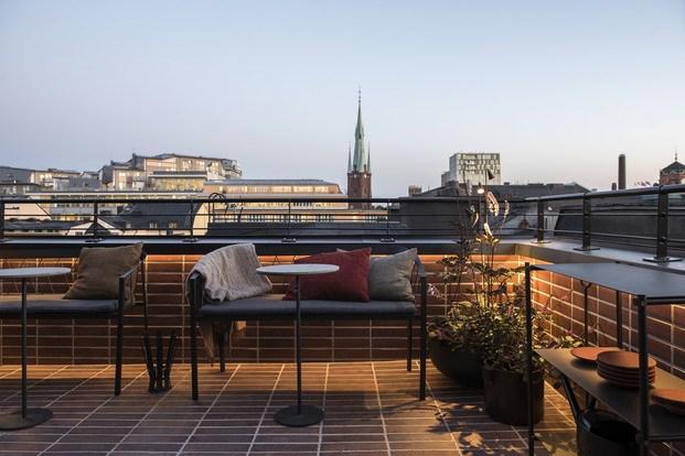 Vistas a los tejados de Estocolmo Frantzen Suecia diariodesign