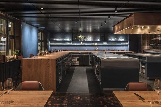 Isla central cocina showcooking Frantzen Estocolmo diariodesign