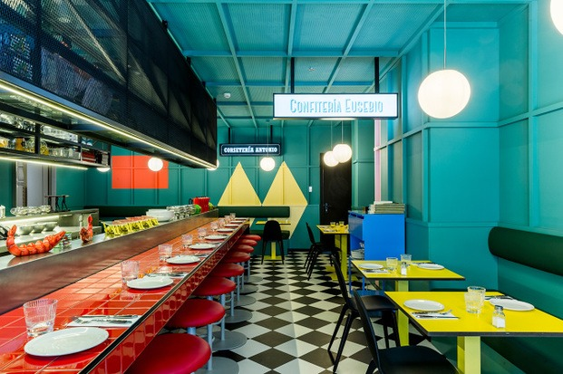 Interior resuatrante moderno años 50 diariodesign