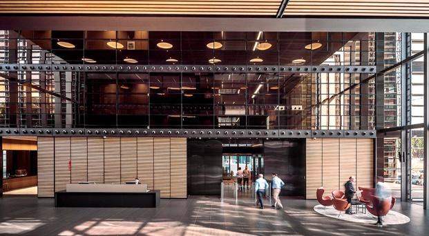 recepción lobby oficinas abogados cuatrecasas barcelona diariodesign