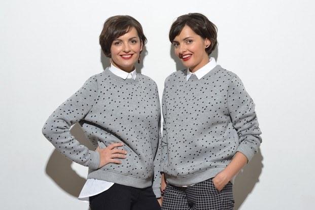 Foto gemelas rusas Sundukovy diariodesign