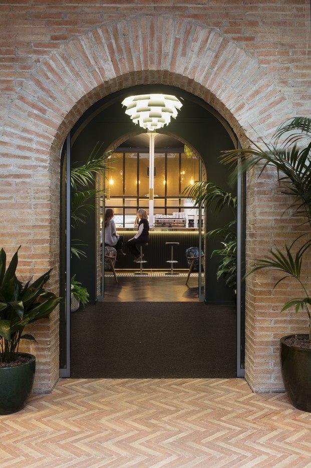 arco restaurante de caixaforum diariodesign