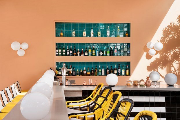 beach bar hotel tropical salt of palmar diariodesign