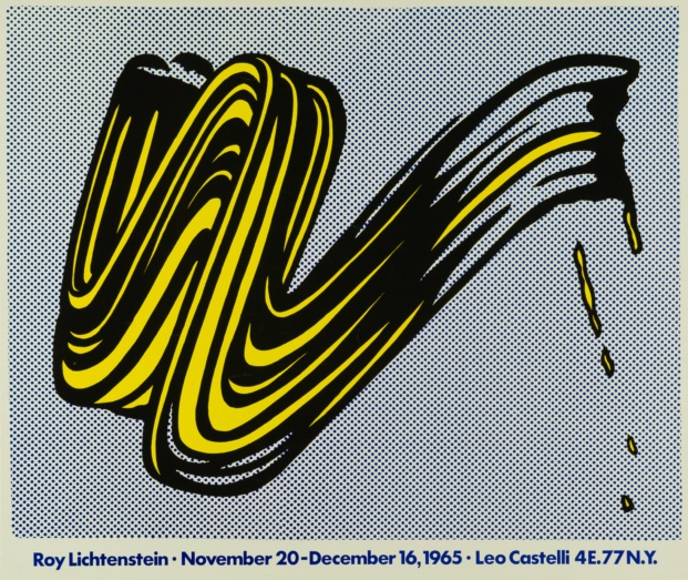 fundacion canal roy lichtenstein diariodesign brushstroke 1965