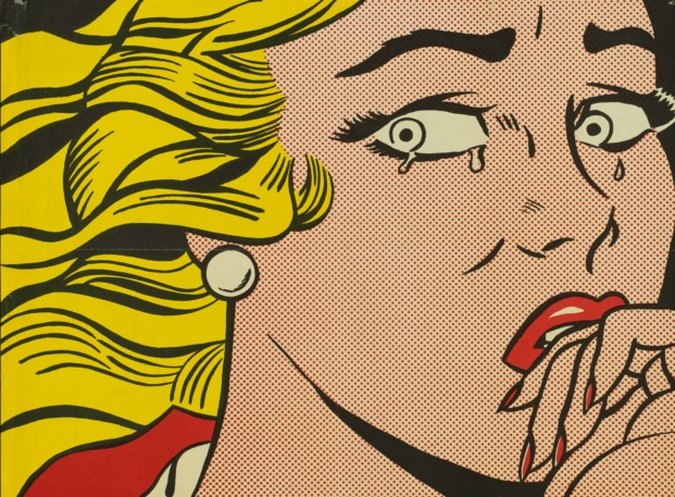 fundacion canal roy lichtenstein diariodesign crying girl 1963
