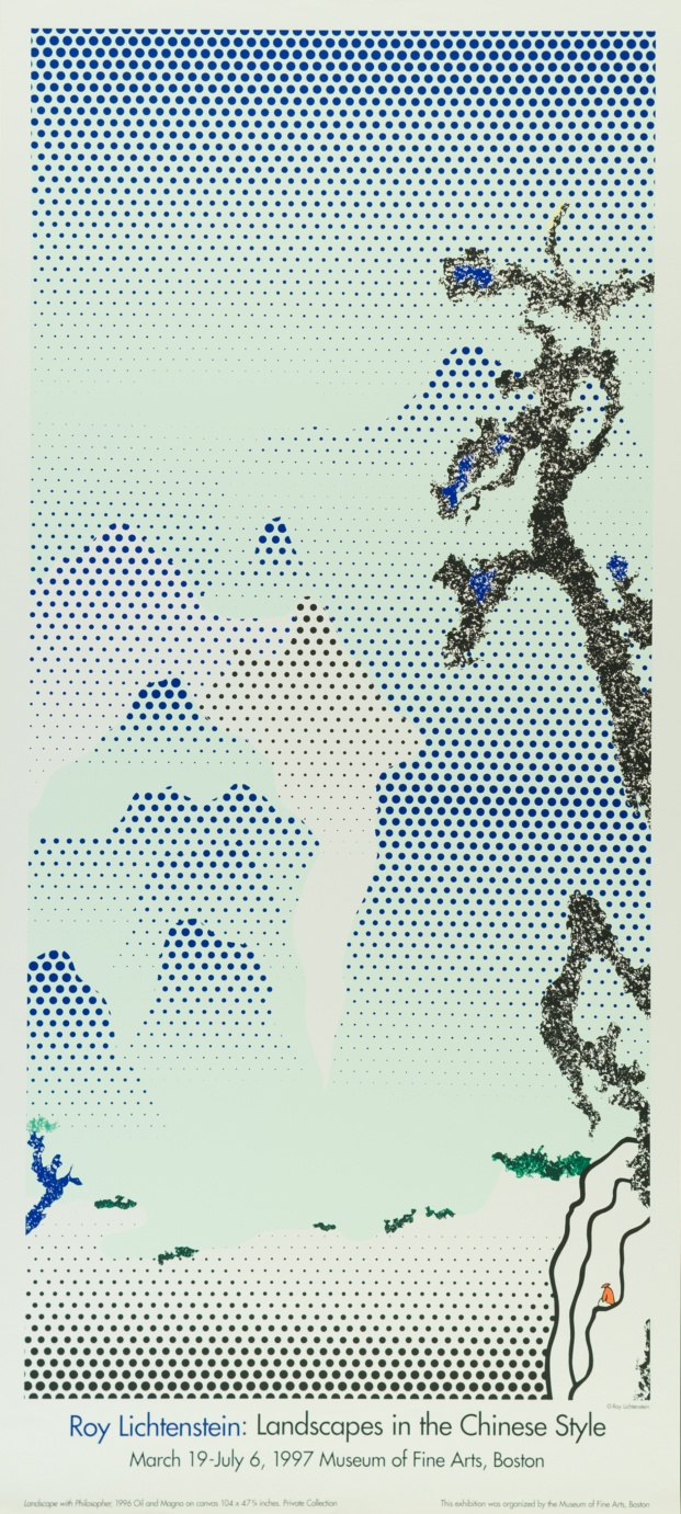 fundacion canal roy lichtenstein diariodesign landscapes in the chinese style 1997