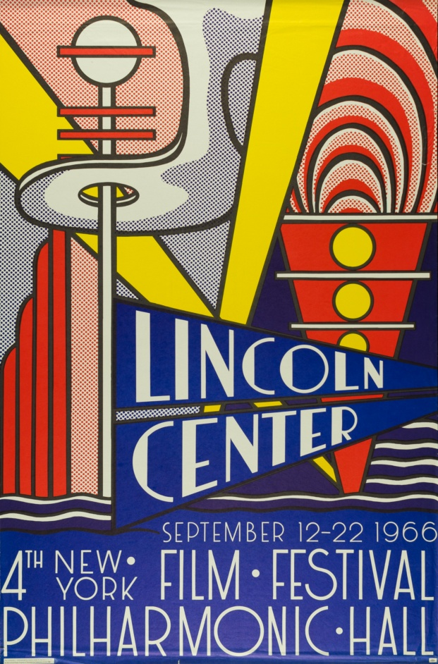 fundacion canal roy lichtenstein diariodesign lincoln center 1966