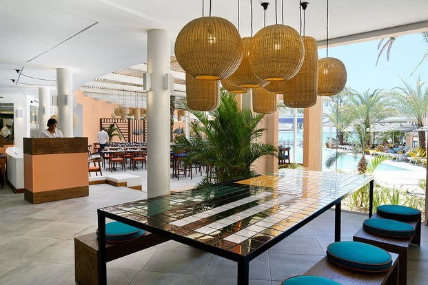 lobby restaurante hotel tropical salt of palmar diariodesign