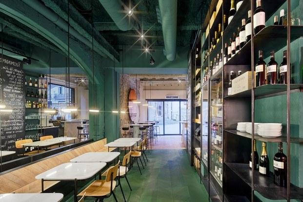 orvay bar en el born color verde diariodesign
