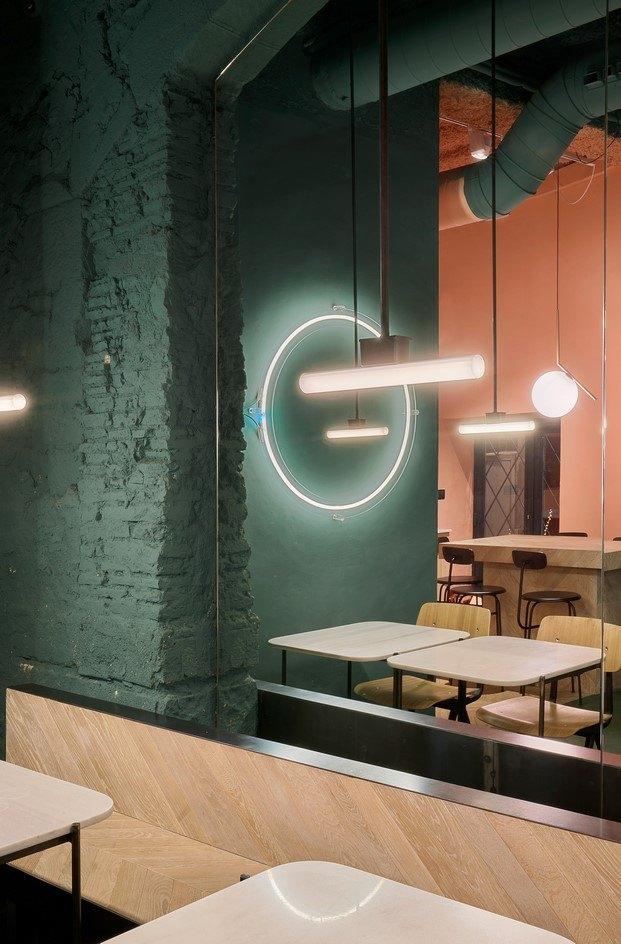 orvay bar en el born iluminación diariodesign