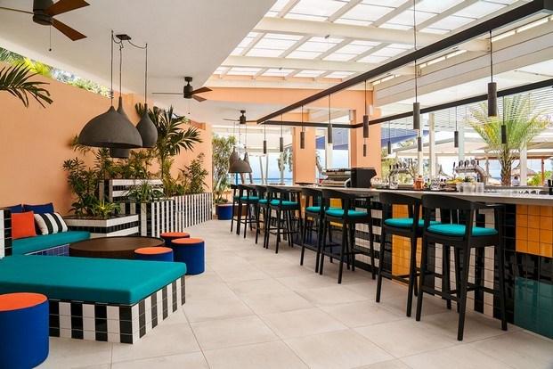 pool bar hotel tropical salt of palmar diariodesign
