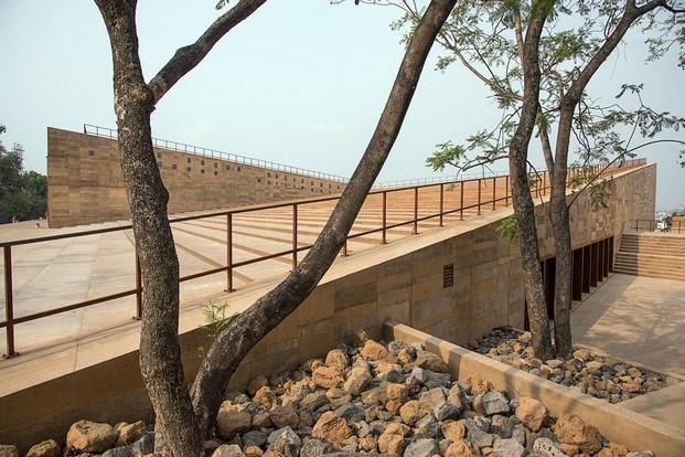 teopanzolco cultural center exterior premio simon de arquitectura lugares colectivos diariodesign
