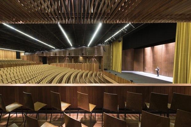 teopanzolco cultural center interior premio simon de arquitectura lugares colectivos diariodesign