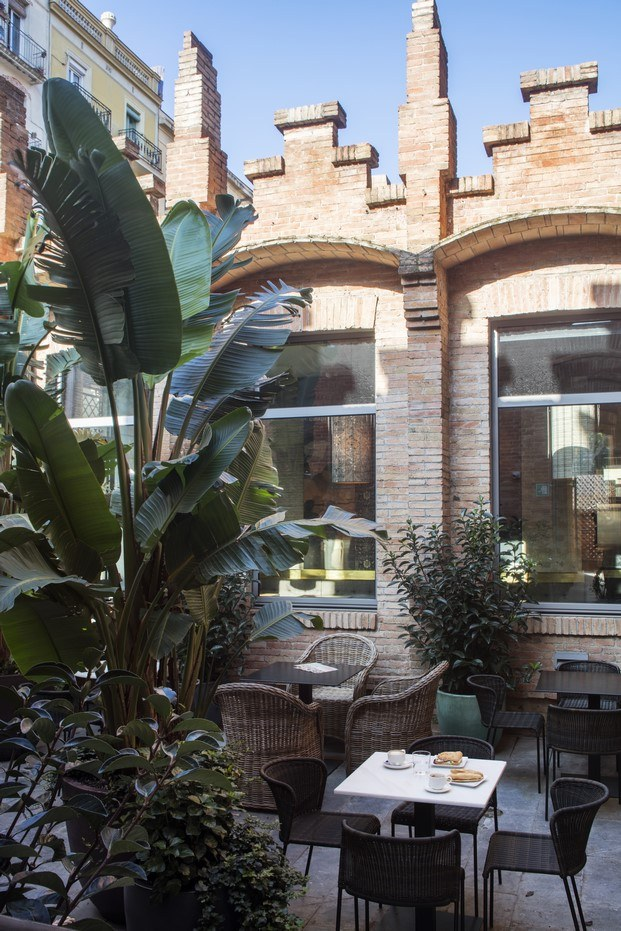 terraza restaurante de caixaforum diariodesign