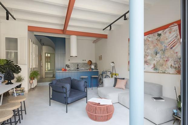 reforma apartamento modernismo catalán