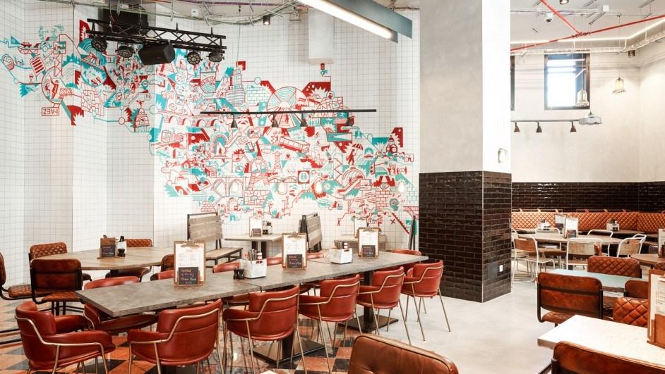 generator madrid cafeteria gráfico cerámica