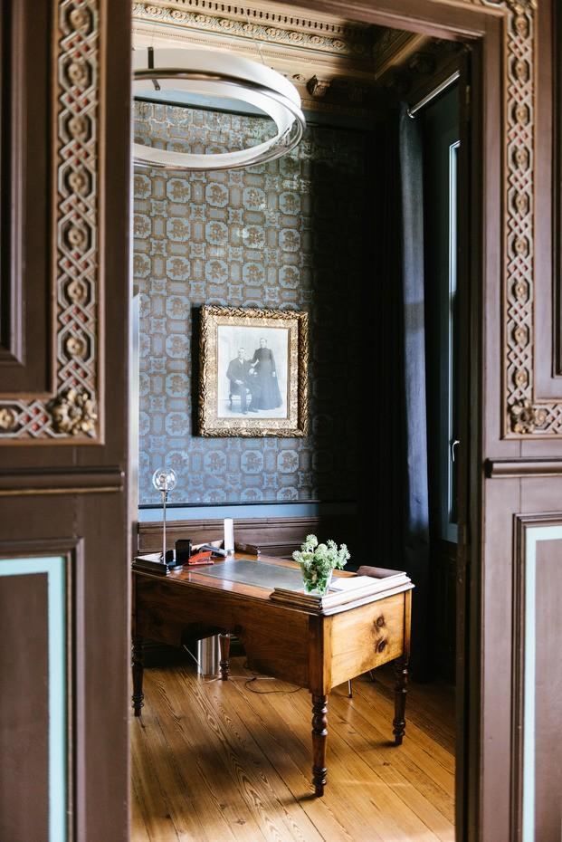 interior casa modernista reformada Villa Clementina navarra - diariodesign