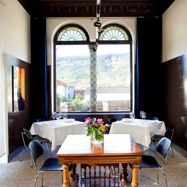 Comedor hotel boutique Villa Clementina navarra - diariodesign