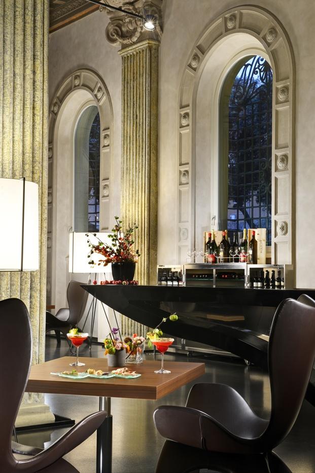 hotel radisson roma palazzo montemartini lujo y diseño diariodesign