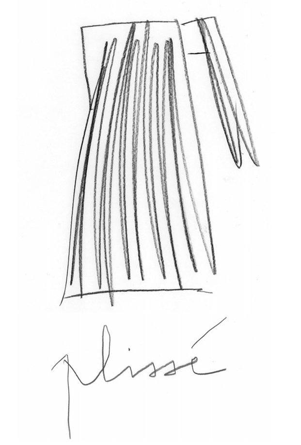 Dibujo tetera de diseño hervidor de agua kettle alessi plisse michele d