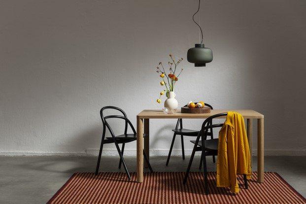 alfombra rope de color terracota hem diariodesign