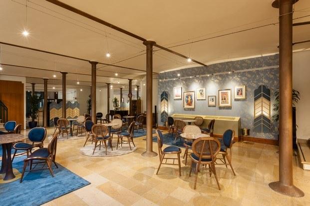 café modernista estilo bohemio diariodesign