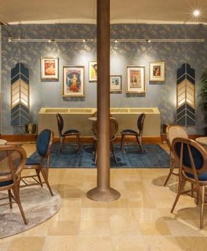 café modernista en la casa botines de gaudí en león diariodesign