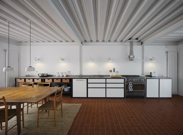cocina estar y comedor casa frente al mar diariodesign