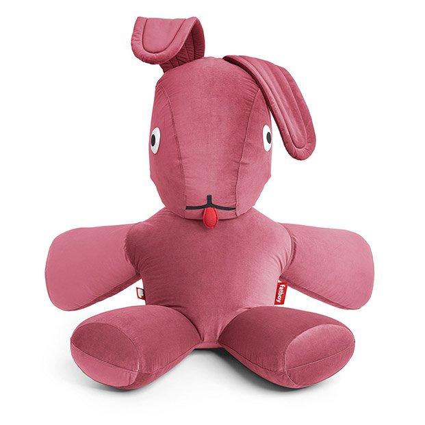 conejito rosa terciopelo fatboy diariodesign