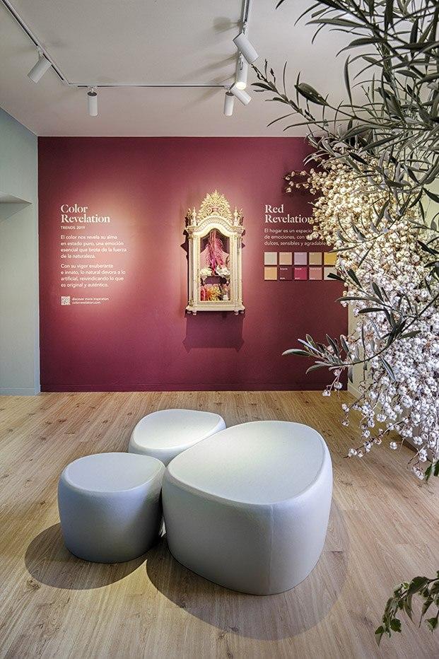 espacio valentine en casa decor diseñado por grow creativity