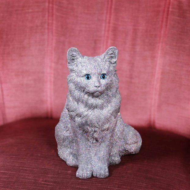 gato hucha purpurina brilli brilli glitter klevering amsterdam diariodesign