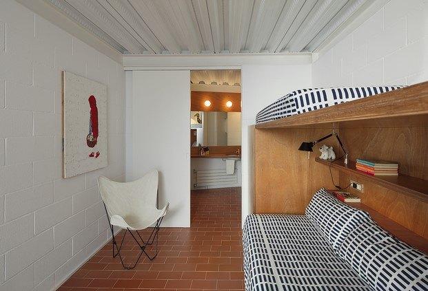 habitación casa frente al mar diariodesign