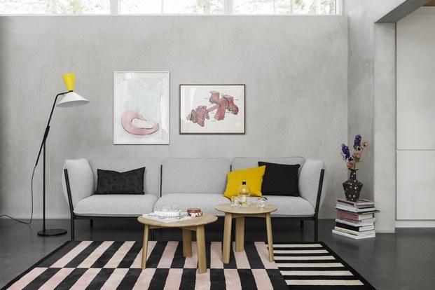 kumo sofá de hem color gris diariodesign