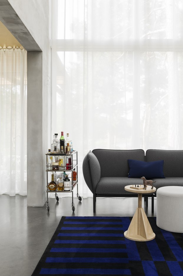 kumo sofá de hem gris diariodesign