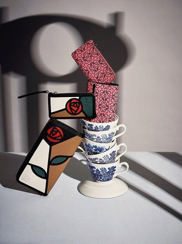 loewe mackintosh colección cápsula moda y diseño