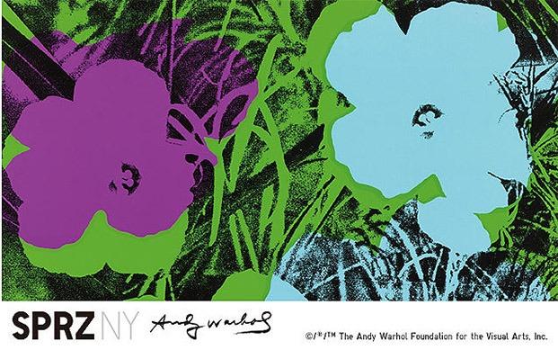 uniqlo andy warhol moda y diseño flores pop