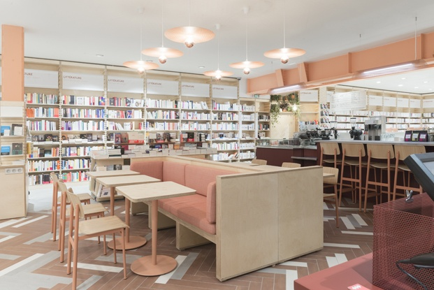ici librairie café en parís