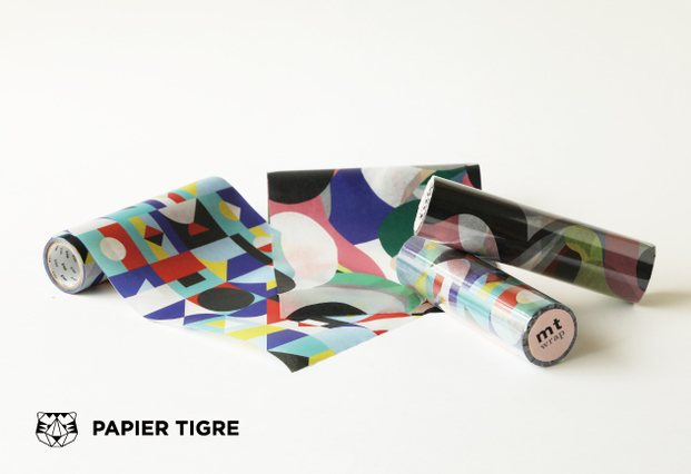 papel decorativo de diseño papier tigre mt - diariodesign