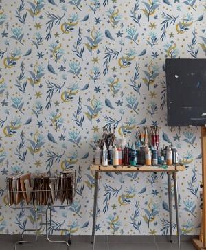 papel pintado coordonné mercedes bellido diariodesign