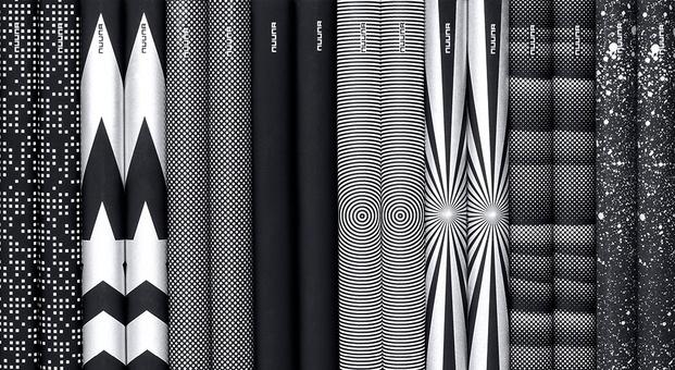 libretas blanco y negro de diseño - diariodesign